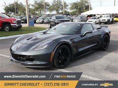2019 Chevrolet Corvette Grand Sport (shadow gray metallic)