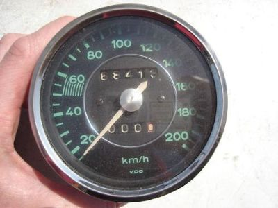 Buy PORSCHE 356 SPEEDOMETER KMH KPH SPEEDO VDO SPEEDO motorcycle in Los Angeles, California, US, for US $695.00