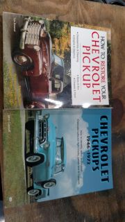 HOW TO CHEVY PICKUP BOOKS