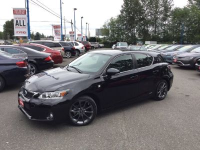 2012 Lexus CT 200h Base (Obsidian)