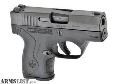 For Sale: Beretta BU9 Nano G-I-8717
