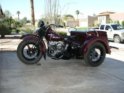 1949 Harley-Davidson SERVI CAR