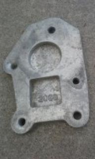 Mr. Gasket shifter mounting plate # 2096 for 64-67 Galaxie toploader 4 speed transmission