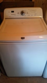 Maytag bravo he energy star washer with low profile agitator