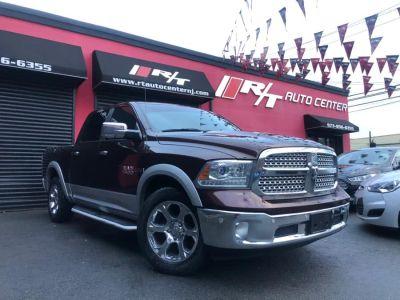 "2015 RAM 1500 Diesel 4WD Crew Cab 140.5"" Laramie (Burgundy)"
