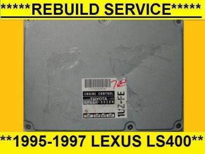 Purchase REBUILD SERVICE 1995-1997 Lexus LS400 engine computer, 4.0L base, ecu, ecm motorcycle in Middle River, Maryland, United States, for US $70.00