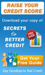 Get Your FREE Guide to Better Credit!!