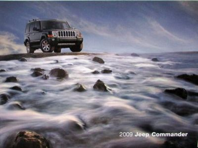 Buy 2009 Jeep Commander Sport Limited Overland Original Sales Brochure motorcycle in Holts Summit, Missouri, United States, for US $17.09