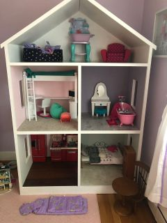 Custom Made dollhouse- for 18 inch dolls