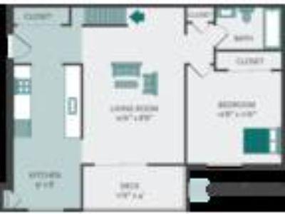 Crown Pointe Apartments - D 1b/1b (3rd floor loft)