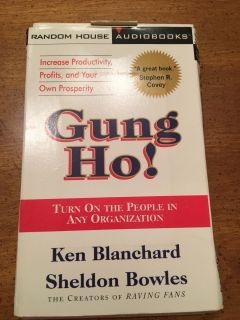 Hung Ho! Turn on people on any organization