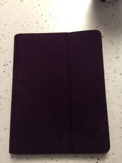 PROTECTIVE FAUX SUEDE IPAD CASEmake an offer OBO