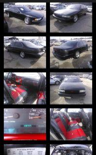 1996 Chevrolet Impala SS (Black)