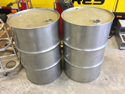 Stainless Steel fuel drums