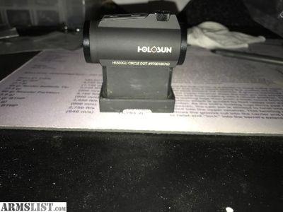 For Sale: Holosun HS503GU