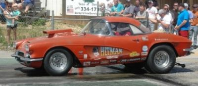 "1962 ""Hitman"" Corvette"