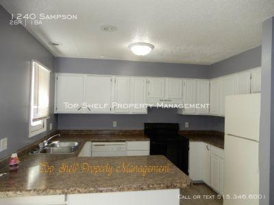2 bedroom duplex for rent!