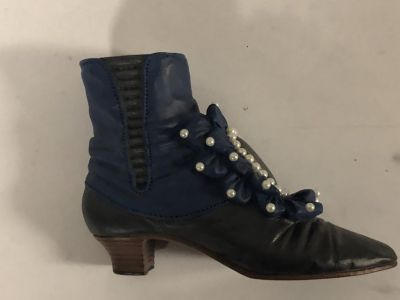 Victorian Ankle Boot Just the Right Shoe