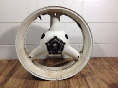 Sell 1997-2000 Suzuki GSXR 600 OEM Straight Rear Wheel Rim *5713 motorcycle in Wesley Chapel, Florida, United States, for US $54.98