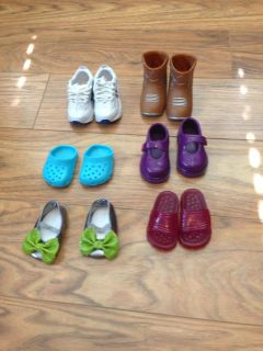 """18"""" doll shoes(fit American Girl)"""