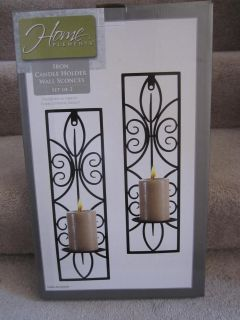 NEW Iron Candle Holder Wall Sconces