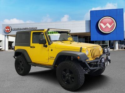 2015 Jeep Wrangler Sport (Baja Yellow)