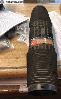 NOS Hot Air Duct Plastic Hose Fits 911 75-80