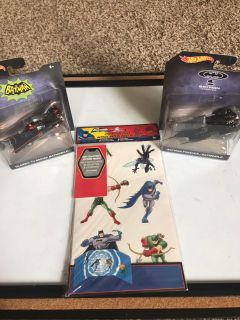 New set of hot wheels collectible figures