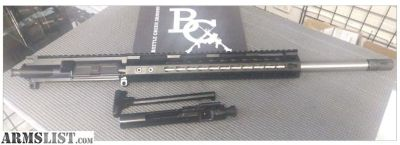 "For Sale: AR15 6.5 GRENDEL 18"" SS ODIN WORKS COMPLETE UPPER W/ BCG & CH"