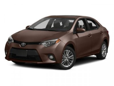 2015 Toyota Corolla L (Brown Sugar)