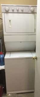 Whirlpool stacked washer and dryer $400