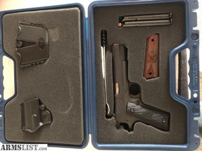 For Sale: Springfield 45cal 1911 (Black)