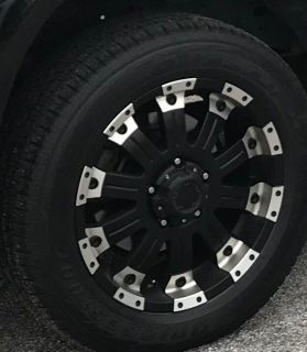 2012 Toyota Tundra Factory Wheels and Tires