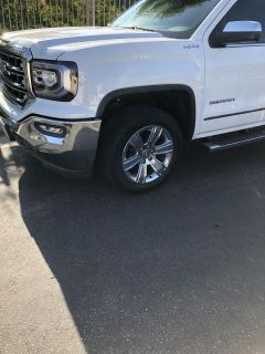 GMC 20 inch rims and tires