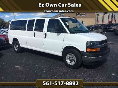 Used 2017 Chevrolet Express 3500 Passenger for sale