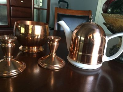 Copper set one of a kind