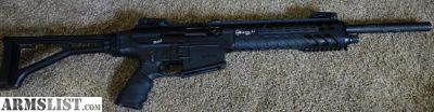 For Sale/Trade: AR style 12 gauge, MKA 1919 Match Pro. Folding stock, tons of mags