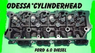 Purchase FORD 6.0 TURBO DIESEL F350 TRUCK CYLINDER HEAD CASTING #613 20mm DOWEL 06&UP motorcycle in Clearwater, Florida, US, for US $600.00