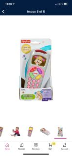 Fisher-Price puppy phone!