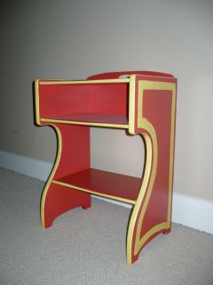 Mid-Century Modern Night Stand Side Table Wood