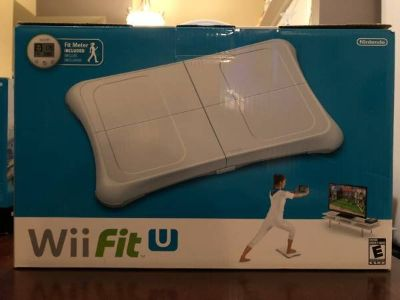 Nintendo Wii U Fit Balance Board and Fit Meter