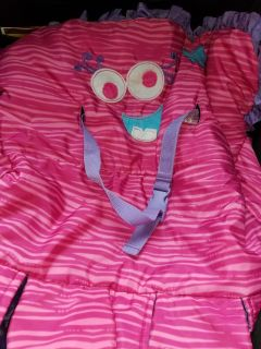Cute pink monster shopping cart cover GUC $5