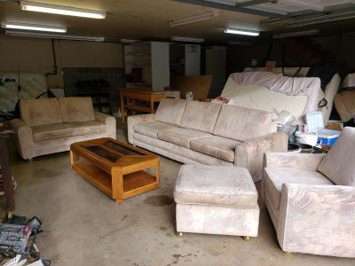 Vintage Retro Modern Couch Set. FREE!! Must go TODAY!