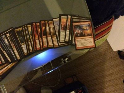 MTG cards, boxs (Decent M14, Theros cards and foils) Cheap prices - x002425 (Gorge Road