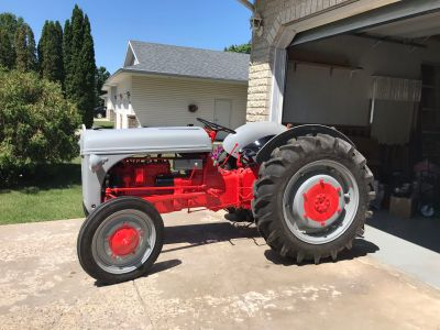 1946 Ford 2N Tractor Restored