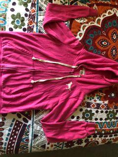 Pink sweat shirt size medium