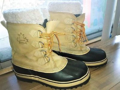 Sorel Scout Blue And Khaki Winter Boots