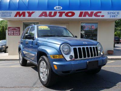 2005 Jeep Liberty Limited (Atlantic Blue Pearl)