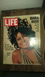 $7 LIFE magazine-dec,8,1972 -Diana Ross on the cover!!,good cond,clean,must see