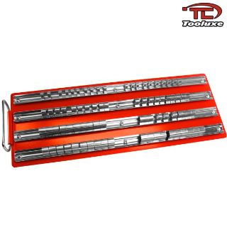"Find 80pc Socket Rack Tray 1/4"" 3/8"" 1/2"" Rails Ratchet Wrench Socket Storage Case motorcycle in Chino Hills, California, US, for US $19.95"
